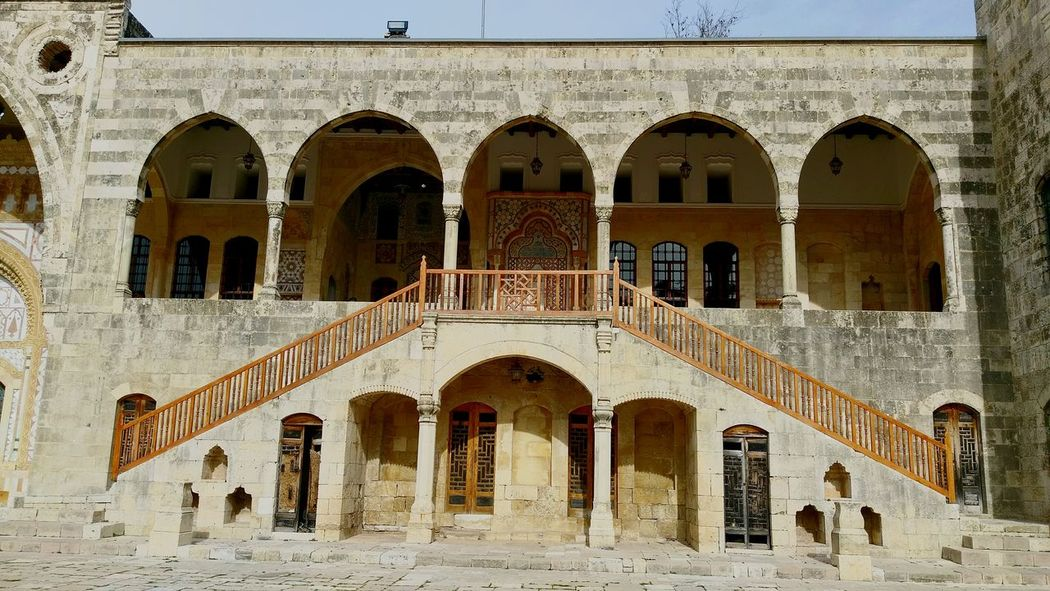 palace symmetry Old Palace Royal Palace Lebanon Lebanon In Photos EyeEm Selects Arch Architecture Built Structure Building Exterior Day Window Outdoors