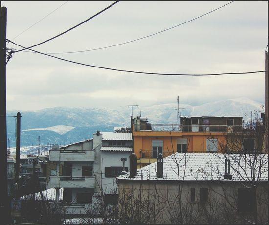 Snow Mountains Kozani