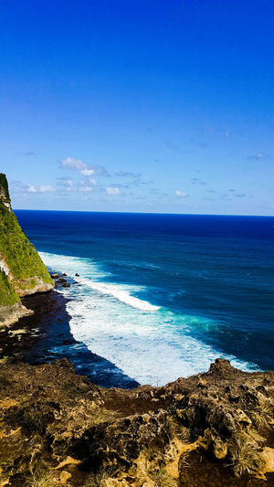 Sea Blue Scenics Water Sky Nature Outdoors Clear Sky Beauty In Nature