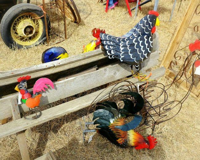 folk art ArtWork Auction Sale Sculpture Chickensalad