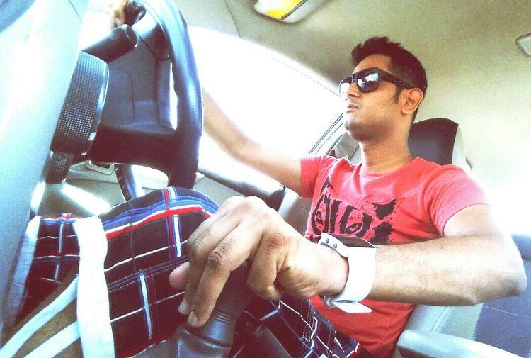 Weekend Drive Smart Casual Taking Pics While Driving Hot Drive&shot Karachi Enjoying Life Like Likeme Like It