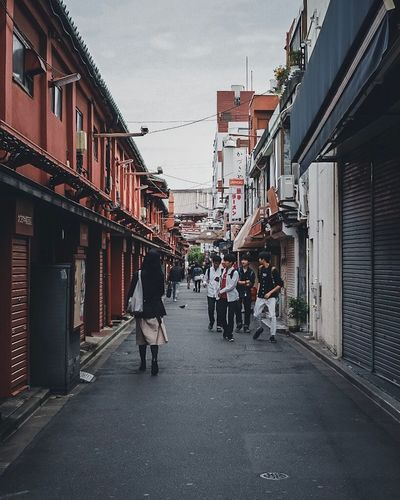 Japan alleys Tokyostreetphotography Tokyo Photography Tokyo Street Photography Tokyo,Japan Architecture Building Exterior Built Structure City Street Real People Building