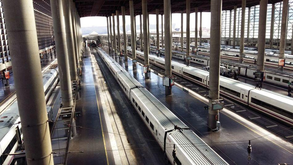 Train station Architecture Prespective First Eyeem Photo Taking Photos A.V.E. Trains Atocha Madrid