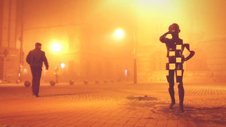 Statue Timisoara Romania Sorin The Street Photographer - 2015 EyeEm Awards Lensculture Streetphotography Phone Boy Art ArtWork Citylife Child