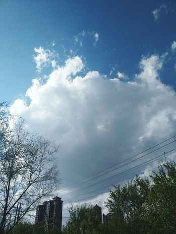 Outdoors Blue Sky