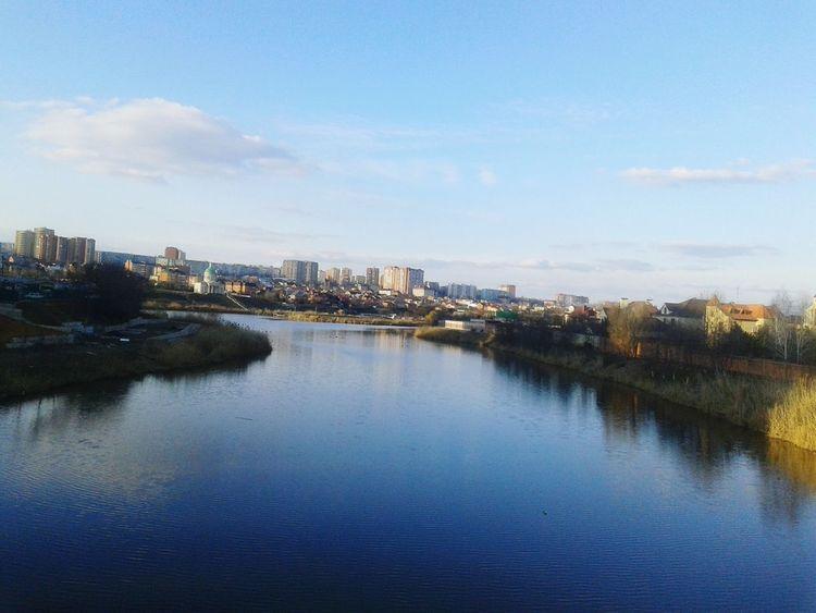 Река Темерничка река вид с моста