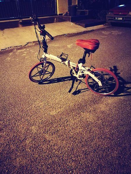 Raleigh Ugo Raleigh Ugo Bicycle Night Photography Foldable Bike