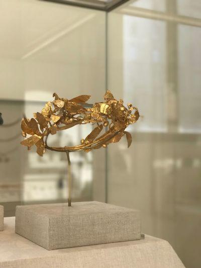 Greek Art.... Gold headpiece IPhoneography Greekart