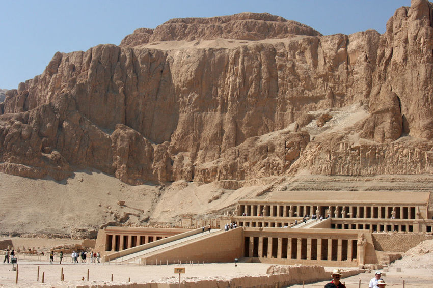 Ancient Egypt Ancient Egypt Architecture Built Structure Ancient History Architecture Day Egyptian Temple Hatshepsut No People Outdoors Temple - Building