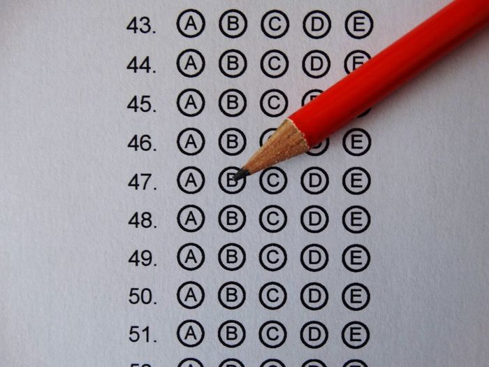 Pencil on exam style paper. Pencil Exam Exams Exam Paper School College University Education Learning Test Tests Paper Writing Learn Numbers Number Papers White Indoors