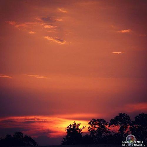 Seeing the setting sun... My eyes feel like, being on heaven... AwespiringSunset BITp SpiceMi515