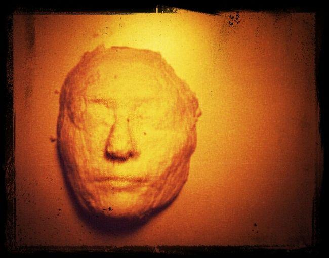 Face Art Mask Sculpture