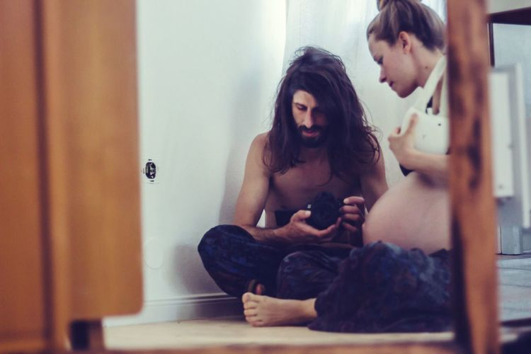 pregnant hipsters in the mirror Shirtless Home Sitting Long Hair Alternative Hipster Style Hipster - Person Family Young Family Pregnant Life Pregnancy Mirrorselfie EyeEm Selects Sitting Young Adult Lifestyles Indoors  Real People Visual Creativity Young Women Home Interior Mirror Emotion Full Length Front View Couple - Relationship A New Beginning