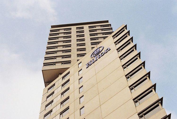 Barcelona Hilton Hotel Analogue Photography Analogue Film 35mm