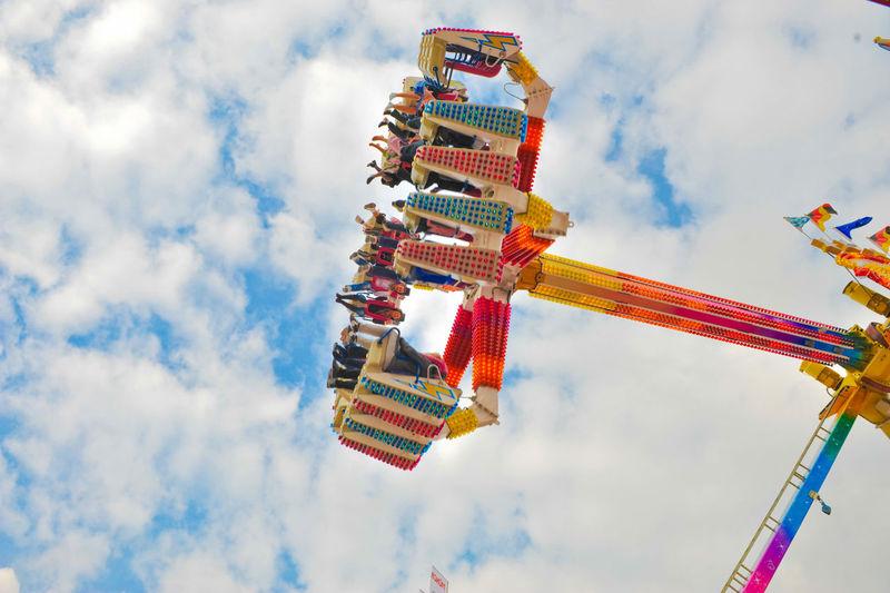Carousel at funfair