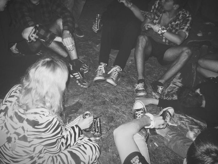 Enjoying Life Friends Plener Camp Party Hard