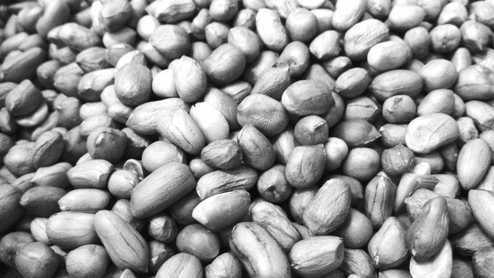 EyeEm Selects Food And Drink Full Frame Food Healthy Eating Nut - Food Backgrounds Dried Food Abundance No People Large Group Of Objects Close-up Indoors  Freshness Dried Fruit Day Bnw Bnw_collection Blackandwhite Malaysia Raya Muslim