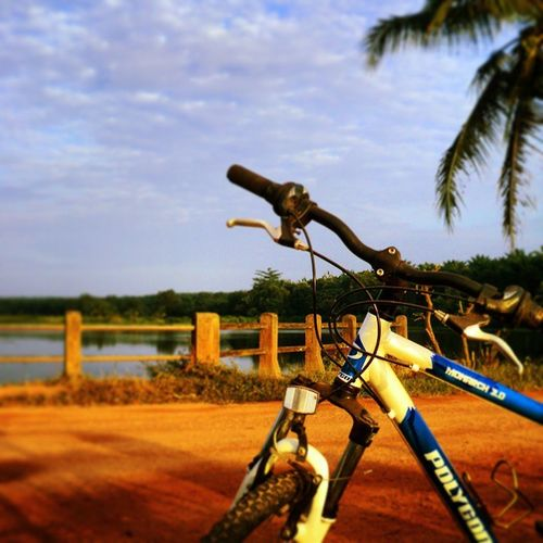 Jogging or bicycle ? I guess, both of still awesome. :) Ins Instatraveling Mylife Mystory Borneo