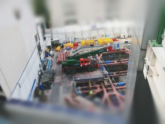 Building... Dangerous Building Models EyeEm Selects Manual Worker Working Occupation Tilt-shift Men Repairing Industry Architecture Built Structure