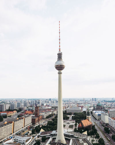 Fernsehturm (Television Tower) in Berlin Alexanderplatz Architecture Berlin Fernsehturm Fernsehturm Berlin  TV Tower Television Tower - Berlin Architecture Deuschland Landmark Television Tower Tower