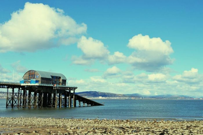 Mumbles Swansea Wales Lifeboat Station...