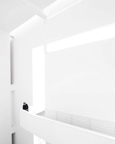 The Architect - 2017 EyeEm Awards White Color Architecture Built Structure Indoors  Whitewashed Eye4photography  EyeEmBestPics Architecturelovers EyeEm Best Shots EyeEm Gallery Architecture_collection Eyeemphotography Young Adult Architecture Minimalist Photography  Architecturephotography One Person Adult Minimalist Architecture One Man Only Paint The Town Yellow Be. Ready.