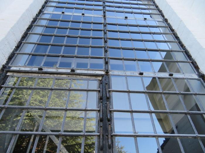 Modern Window Architecture Building Exterior Built Structure Grid Grate Building Repetition