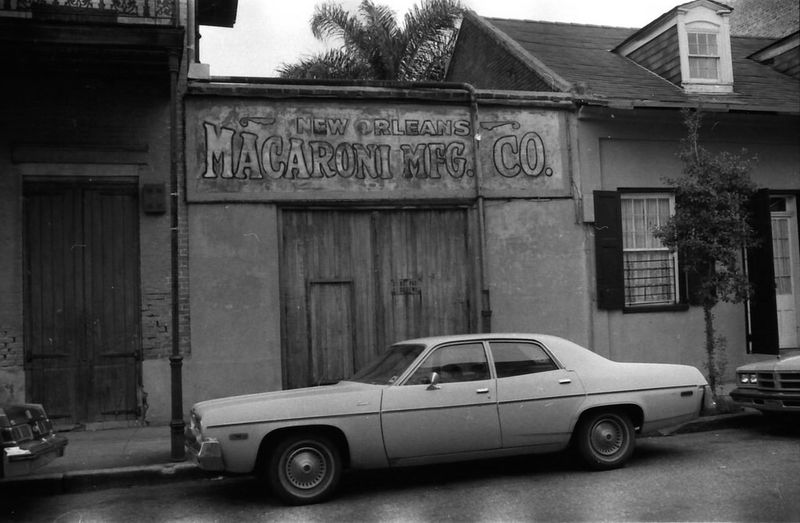 French Quarter. 1975 Vieux Carter. New Orleans