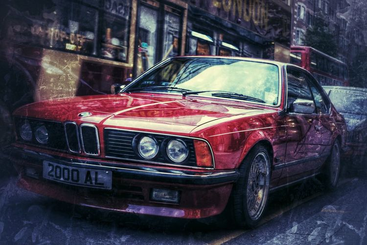 Bmw Car HDR Hdr_Collection Hdr Edit Hdrphotography Taking Photos London Cars Car Porn Vintage Cars Bmw Car Bmw I ♥ It Outdoor Photography HDR Collection Car Show Red Streetphotography Slone Square
