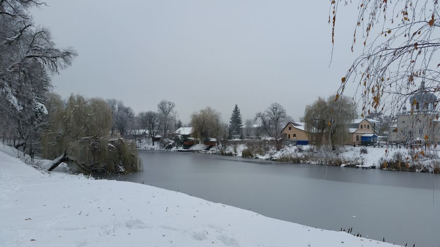 Winter Snow Cold Temperature Water Nature Snowflake Landscape Snowing Ukraine Iranteravel Andrushivka Zhytomyr