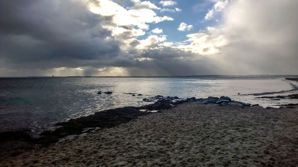 Baltic Sea Beach Beauty In Nature Cloud - Sky Day Horizon Over Water Nature No People Outdoors Pebble Beach Sand Scenics Sea Sky Stones Storm Cloud Tranquil Scene Tranquility Water