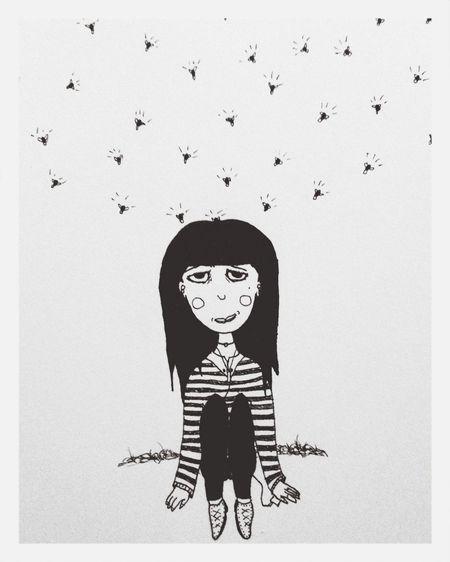 Luci Ilustracion Ilustration Luciérnagas