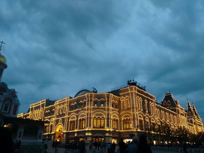 The perfect end to the evening Moscow Opéra Musical Theater  Stage Set Classical Concert Baroque Style Concert Hall  Palace Opera House Auditorium Carousel Velvet Theatrical Performance Stage Theater