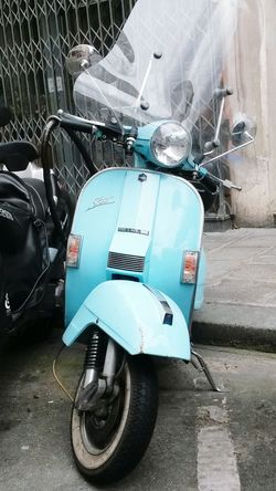 Vintage Scooter Moped Bike Mod Transportation Transport Paris City City Life Retro Style Fashion Your Ticket To Europe