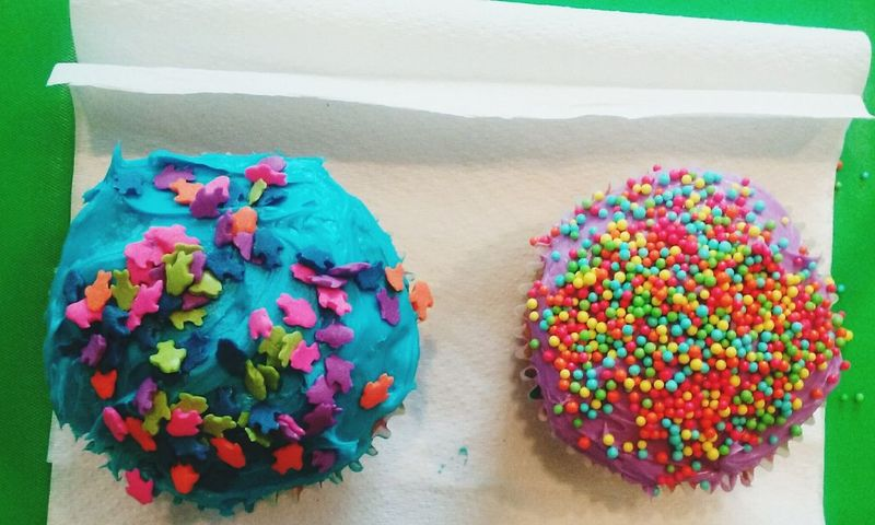 Cupcakes Brightcolors Enjoying Life Showcasejune Colour Of Life