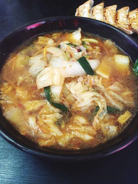 久しぶりの彩華ラーメン。 Hello World EyeEmJapan Ramen Noodles Yammy!!  Food Foodporn Foodphotography ラーメン 彩華