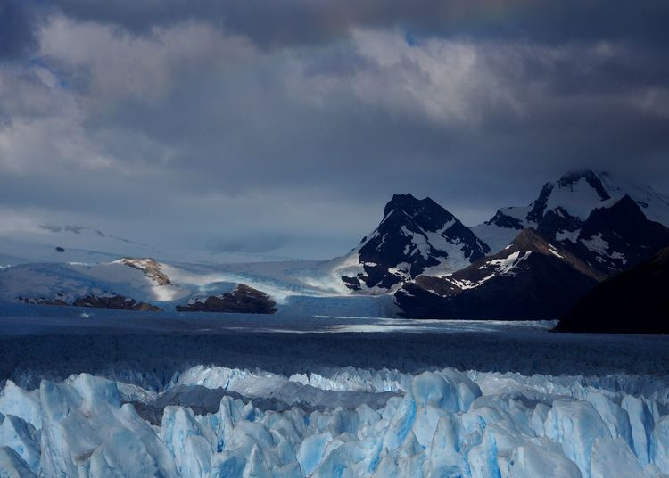 Perito Moreno Glacier, Los Glaciares National Park, Argentina Ice Frozen Glacial Glacier Patagonia Patagonia Argentina Scenics Sky