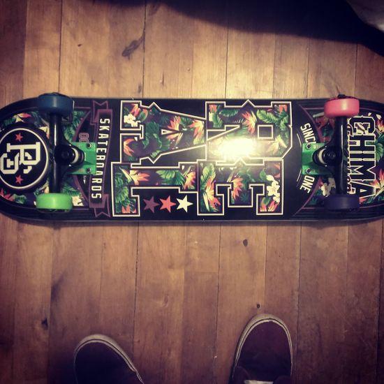 New board!! Realskateboards Boneswheels Thundertrucks