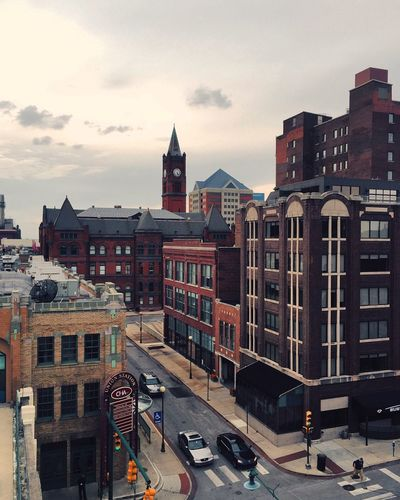 Downtown Indianapolis Eyeemphoto Photooftheday Vscocam VSCO Downtown District Downtownindianapolis Parkinggarage Views EyeEm Best Shots