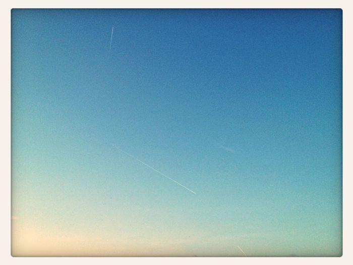 Marks on the sky
