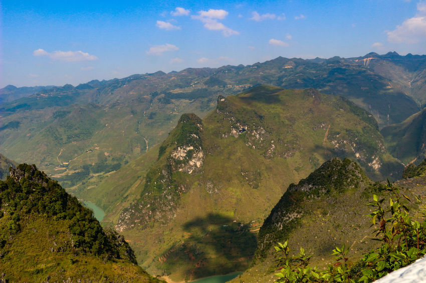 Vietnam Vietnamphotography Vietnam Mountains Đồng Văn Mountain Scenics - Nature Beauty In Nature Tranquil Scene Sky Environment Tranquility Cloud - Sky Landscape Mountain Range Non-urban Scene No People Nature Day Idyllic Tree Plant Water Land Aerial View Outdoors