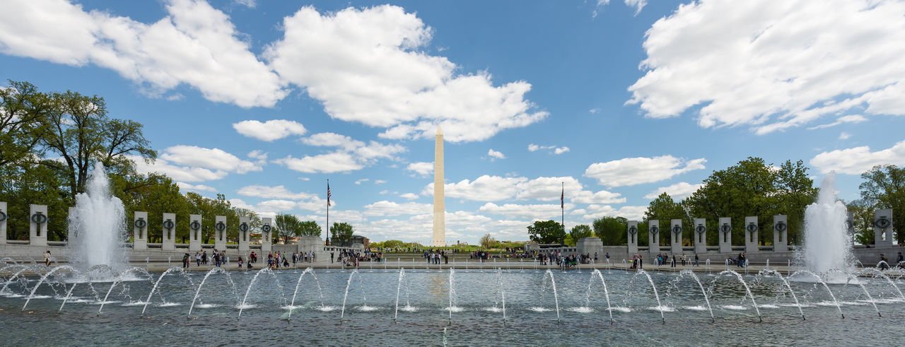 WWII Memorial Washington, D. C. Panorama Nikon Seeing The Sights EyeEm Gallery Eye4photography  Natgeotravel Huffpostgram Check This Out Taking Photos Enjoying Life