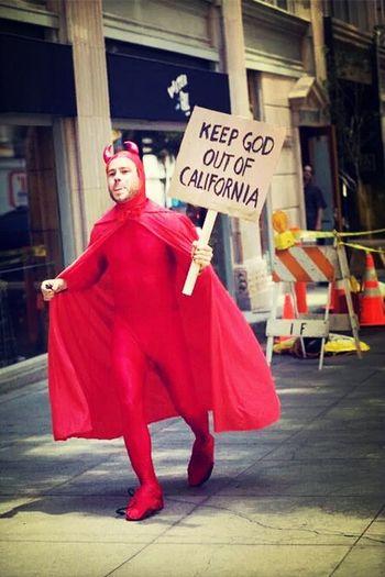 Keep god out of california! :') JACKASS Chrispontius