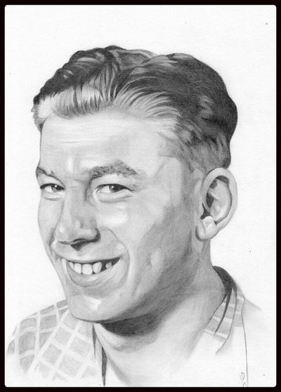 Check This Out Art Portrait Check This Out my pencil drawing of my late grandad a present for my nan