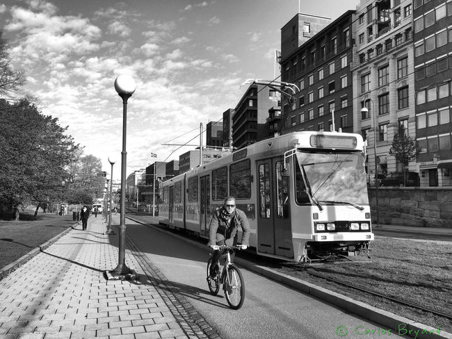 Transporte Noruega Norway Iphone6 Oslo Street Iphonephotography Norge Bicicleta