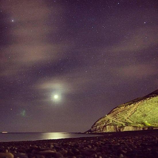 Море Ночная прогулка