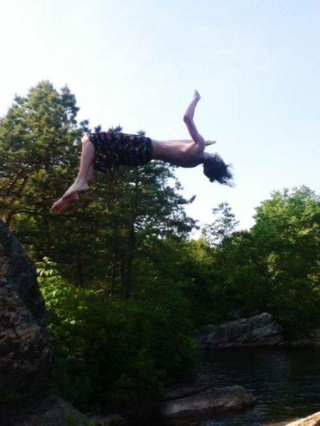 Just jump RISK Outdoors Water NewEyeEmPhotograph