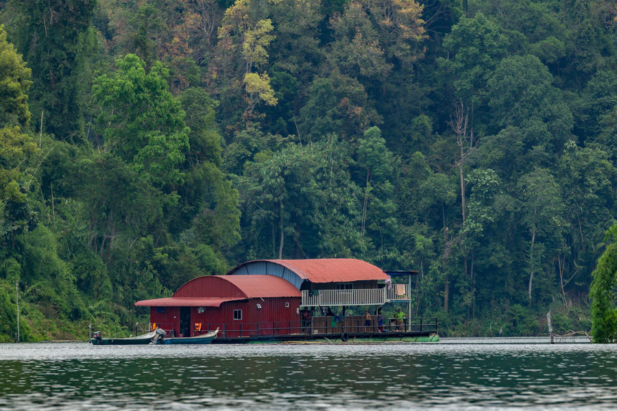 Houseboat at Temengor Lake in Royal Belum rainforest, Perak Malaysia Adventure Architecture Beauty In Nature Birding Building Exterior Built Structure Camping Day Fishing Boat Hornbill Houseboat Lake Malaysia Truly Asia Mountain National Park Nature Nautical Vessel No People Outdoors Rainforest Frog Royal Belum State Park Sky Tree Water Waterfront
