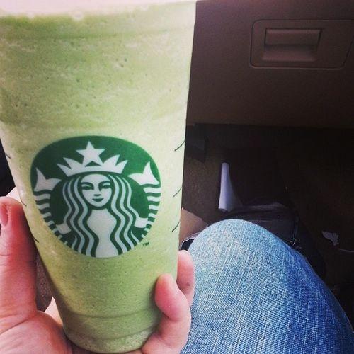 Mmmm green tea