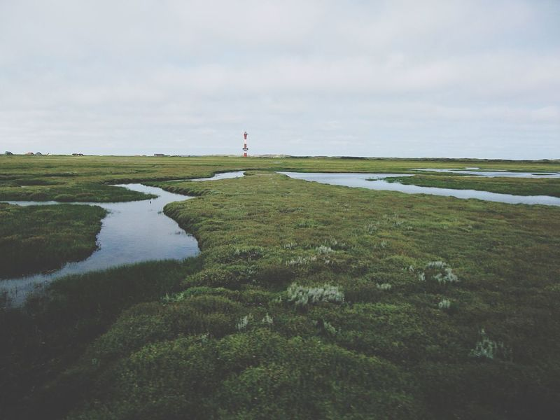 Eye4photography  Edge Of The World Beautiful Places Around The World Lighthouse Wangerooge Germany Nature_collection Aerial Shot Protecting Where We Play Harmony Harmony With Nature Finding New Frontiers